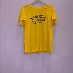 Standard yellow T-shirt